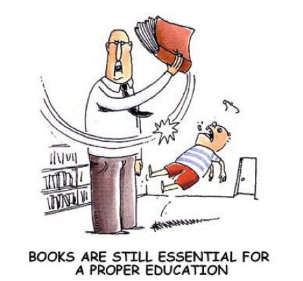 Books Cartoon
